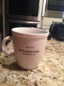 It's a big cup of Starbucks kinda day!