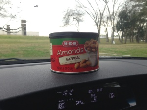 Natural almonds are the bomb!